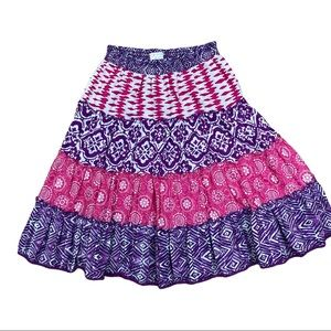 The Children's Place purple/pink tiered skirt